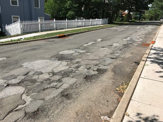 Clifton officials said the paving process will be completed