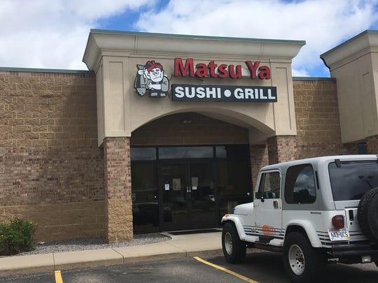 Matsu-Ya Sushi Bar & Grill, 5725 Windy Drive in Stevens