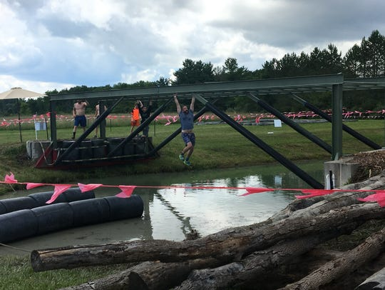 The Swampfoot 4 Mile took place Saturday in St. Clair.