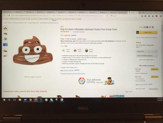 It's a big poo!