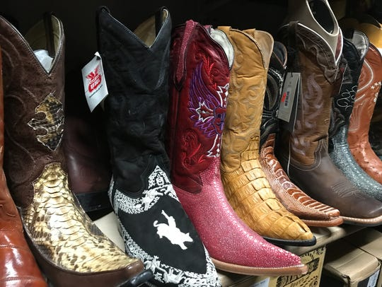 Pointy boots are popular
