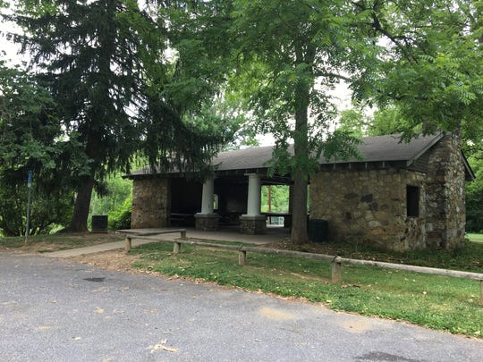Coyner Springs Park pavilion in Waynesboro.