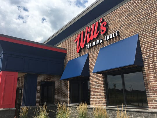 The exterior of Will's Training Table in Sioux Falls.