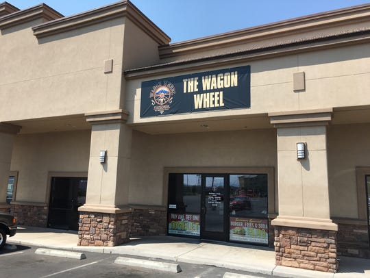 The Wagon Wheel Diner is located at 2654 Red Cliffs