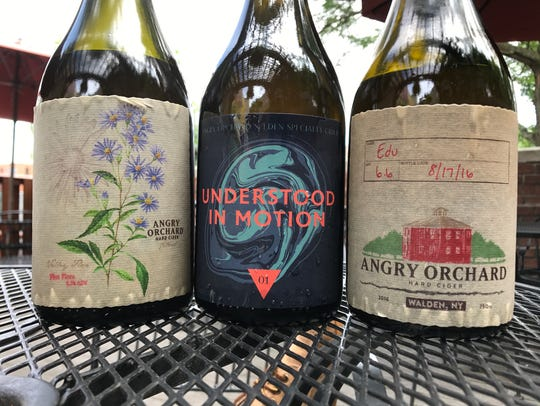 Three small-batch cider releases from Angry Orchard.