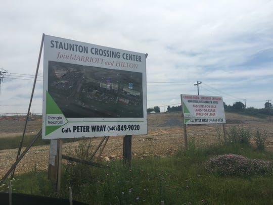 Construction at Staunton Crossing on Richmond Avenue