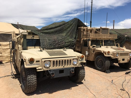The NIE is featuring soldiers from Fort Campbell, Ky.,