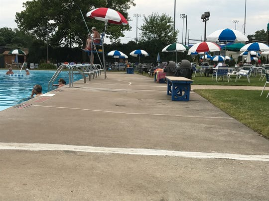 The Hasbrouck Heights Swim Club is looking to make major repairs, which includes cement work.