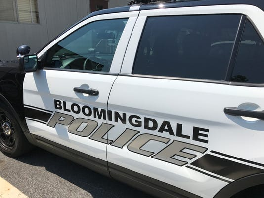 Bloomingdale Police vehicle