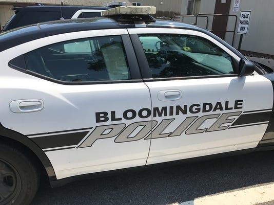 Bloomingdale Police vehicle