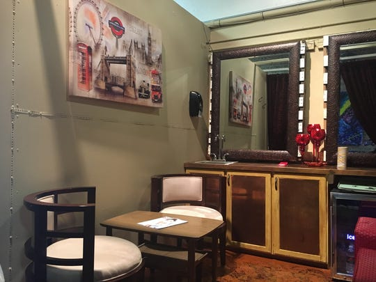 A private meeting room at Retro 521 in Bossier City.