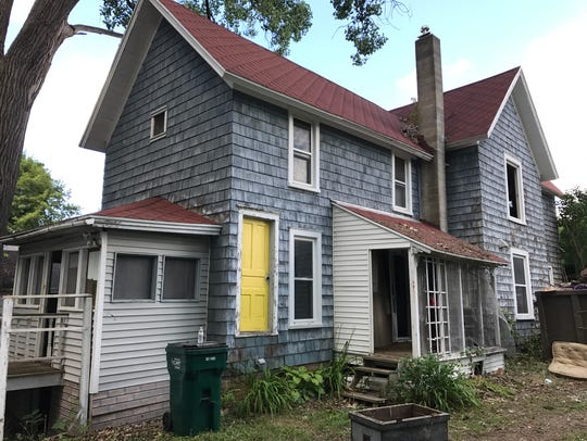 The Victorian house at 1117 N. Walnut St. has a starting