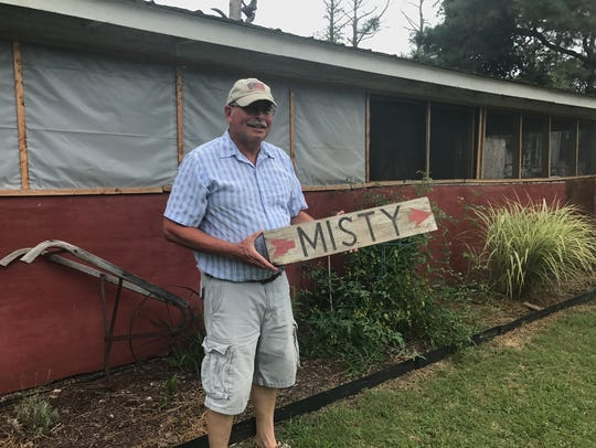 Billy Beebe lives on his family's ranch where Clarence