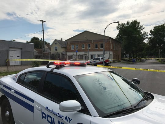A man was shot in the upper body on Reynolds Street.
