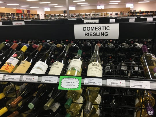 Of all the rieslings in the state liquor store, only