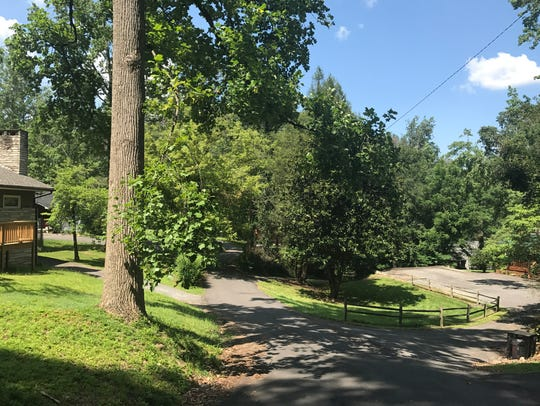 Laurel Avenue in Gatlinburg pictured on Tuesday, July