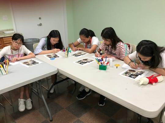 Photo from the Chinese Exchange Camp hosted by Wicomico