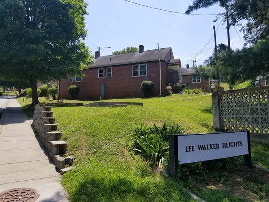 The Lee Walker Heights public housing neighborhood