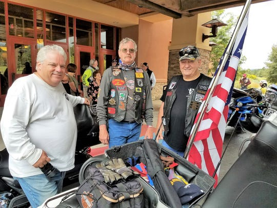 Nation of Patriot riders were met with blue sky and