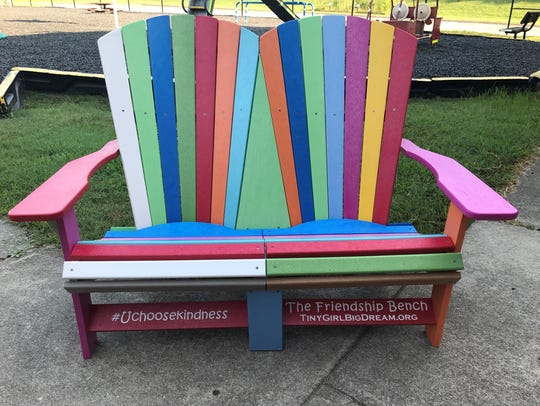 The Friendship Bench will help prevent any Dogwood