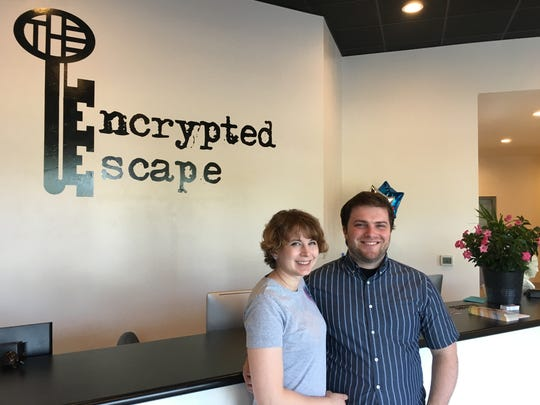 Jared and Linsey Gagner opened Encrypted Escape at