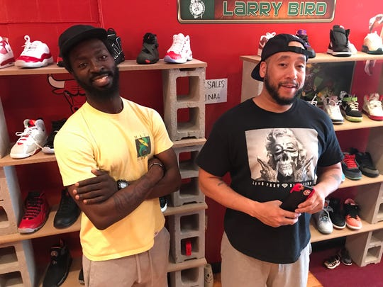 Willie Sanders and Corey Rivers of the new Classic Feel Vintage 980 Monroe Ave.