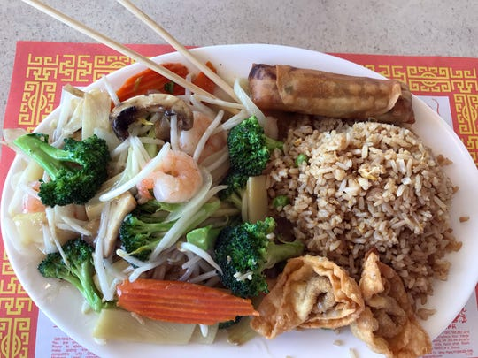 Chop Suey at China Garden, North Salinas