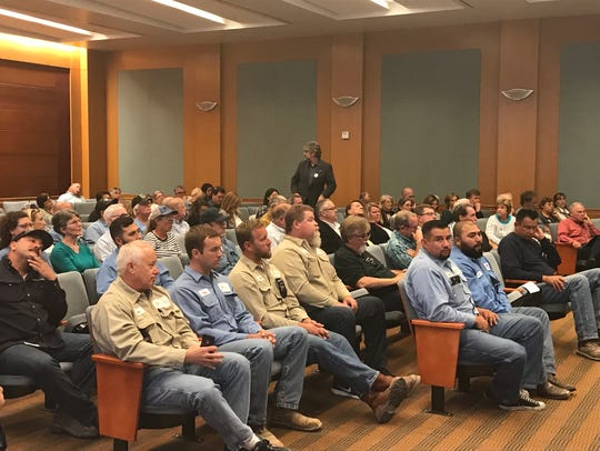 The public Workshop of Measure Z drew a packed audience