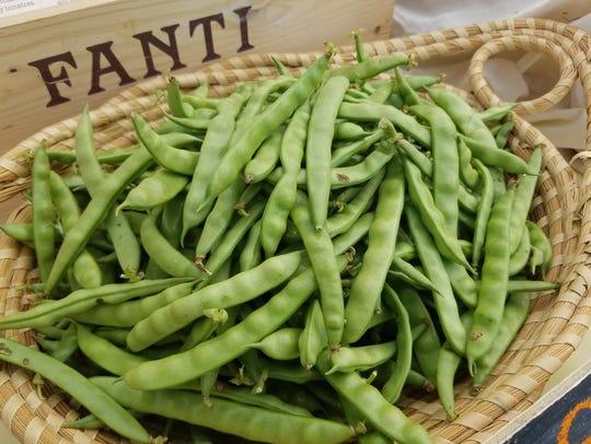 Greasy beans from Dreamy Bean Farm.