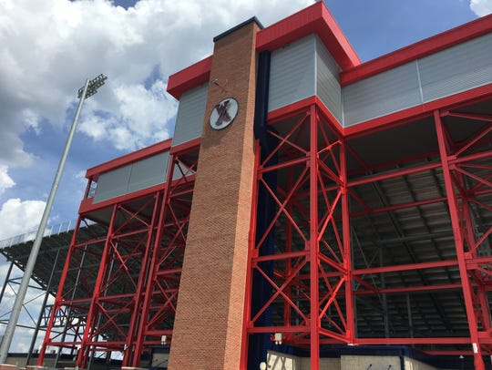 West Monroe's new press box is ready for the 2017 football