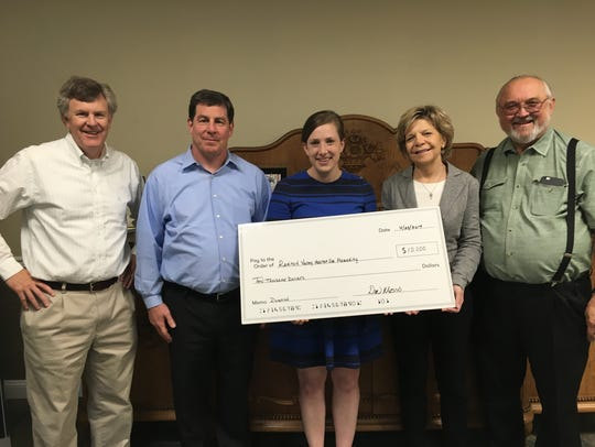 Meghan Musso of the FinPro Inc. Charitable Contributions