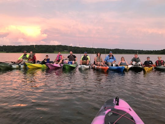 Friends of Lake Jackson is planning a Full Moon Paddle