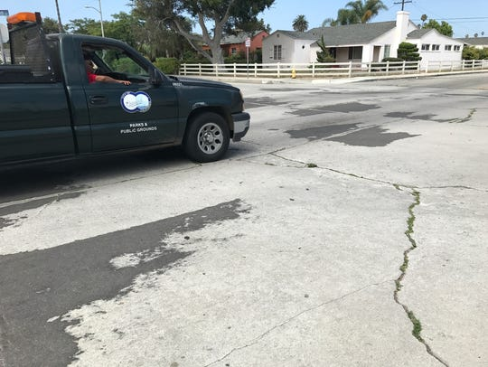 A proposed ballot initiative would require Oxnard to keep up with street repairs in order to obtain certain sales tax revenue.