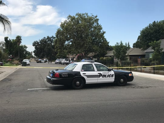 Officer-involved shooting in Visalia.
