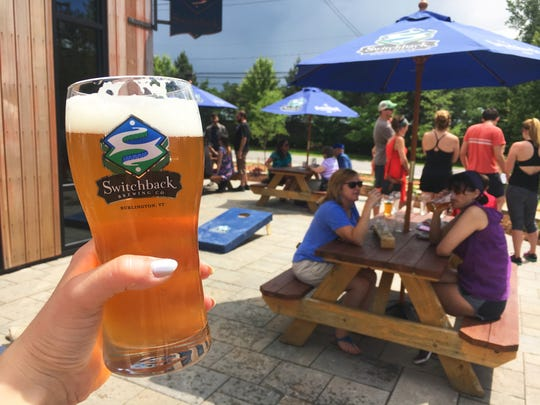 Switchback Brewing has opened an outdoor patio at its Flynn Avenue location.