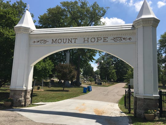 Tours at Mount Hope Cemetery are held annually in the
