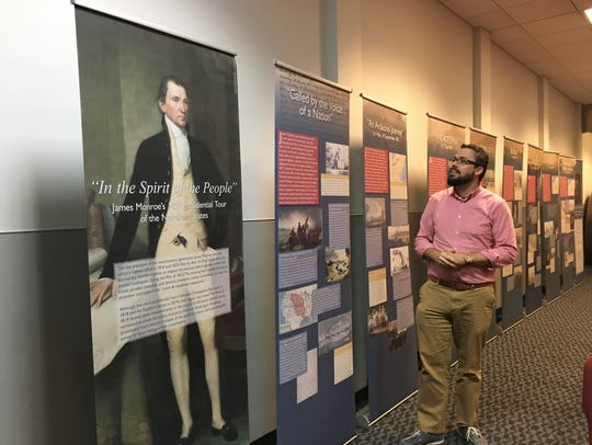 Kevin Moore, associate curator of artifacts, discusses