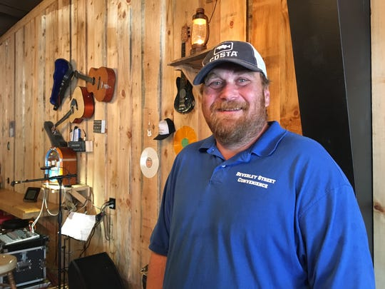 Gary Ingram, owner of the Valley Smokehouse. The Valley Smokehouse on West Beverley Street in Staunton's west end, which is expected to officially open in October. Coming Aug. 11 and 12 will be a special concert with Michael Allman.