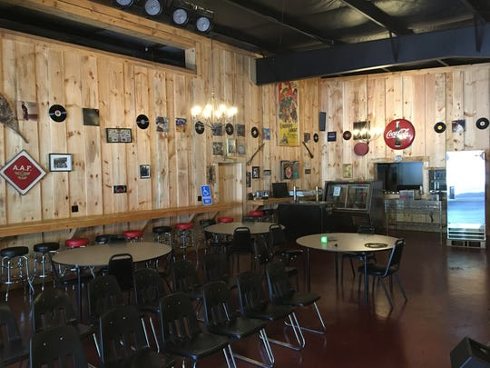 The Valley Smokehouse on West Beverley Street in Staunton's west end, which is expected to officially open in October. Coming Aug. 11 and 12 will be a special concert with Michael Allman.