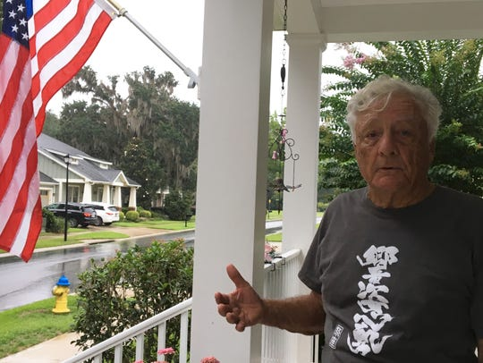 Retired U.S. Navy commander and Southwood resident