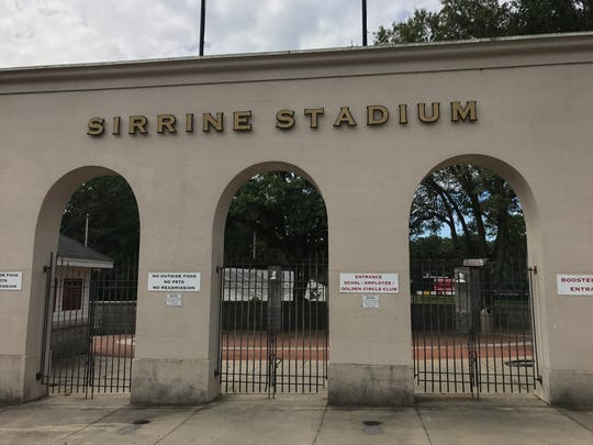 Sirrine Stadium pops up as an Instagram hot spot in Greenville.