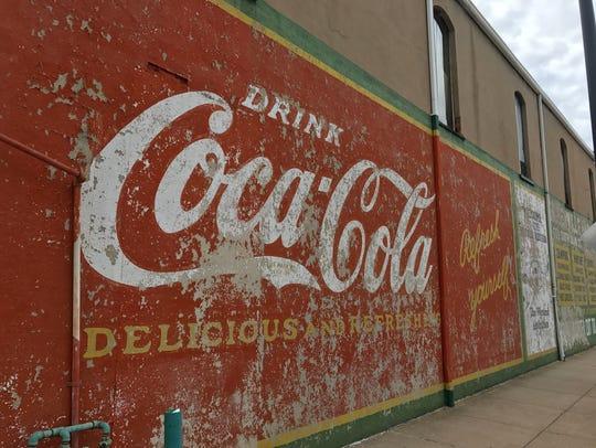 Greenville has plenty of Instagram Hot Spots. The Coca-Cola