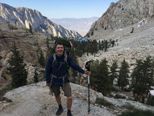 Anders Blewett has climbed some of the tallest peaks