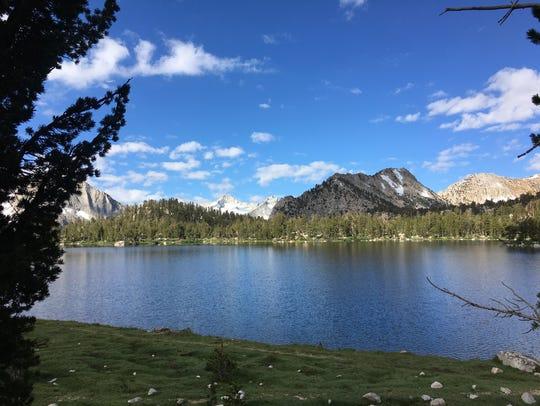 Bullfrog Lake in the high Sierra on July 26, 2017.