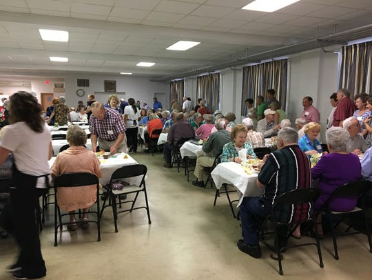 About 150 people attended the first-ever Churchville