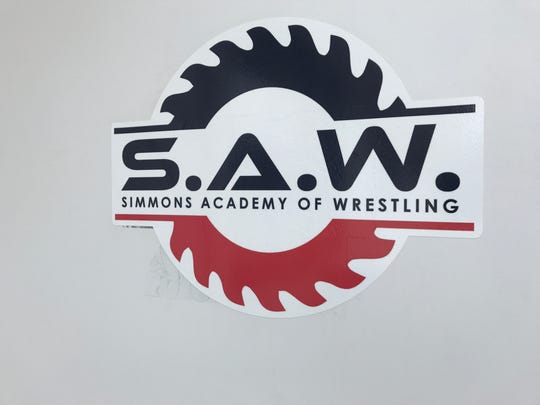 The Simmons Academy of Wrestling is located at 1109