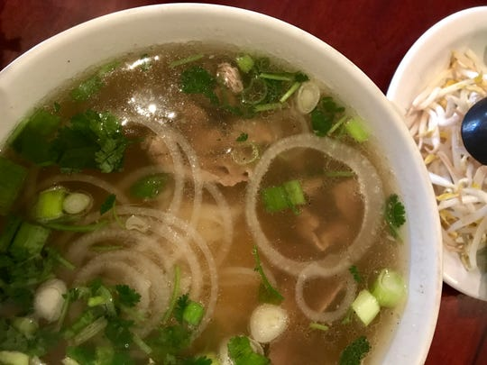 Saigon Paris Bistro serves pho along with a full French