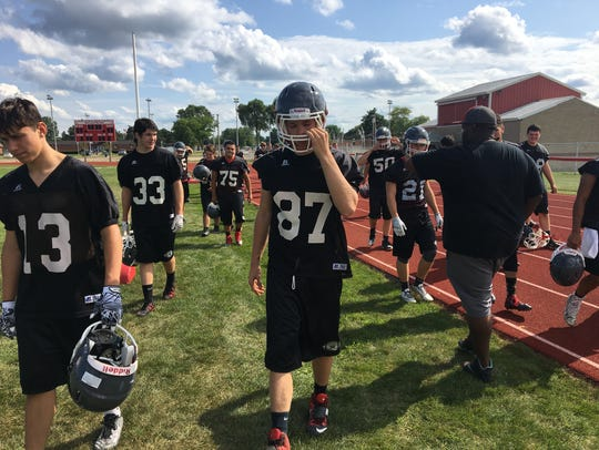 Port Huron High School athletes retake the field after