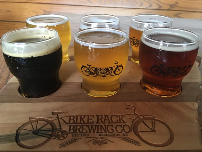 Bike Rack Brewing Co., is Bentonville is small but