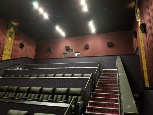 At least four out of 14 theaters now have new leather seats.